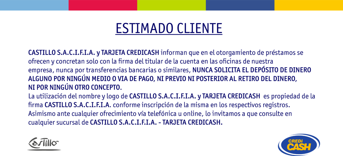 Cartel Comunicado Estafa Prestamo - final